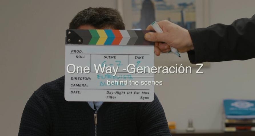 One Way - behind the scenes